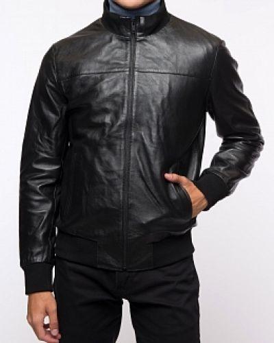 Черная кожаная куртка каляев