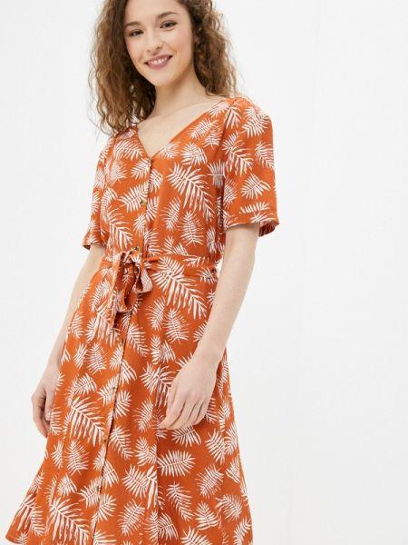 Оранжевое платье Blendshe