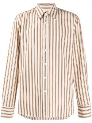 С рукавами классическая классическая рубашка с воротником на пуговицах Prada Pre-owned
