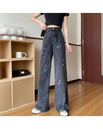 Широкие джинсы - черные Rozetka