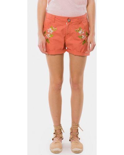 Оранжевые шорты Mr520