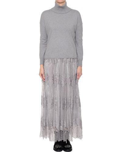 Платье из вискозы осеннее Silvian Heach