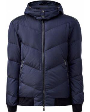 Кожаная куртка с капюшоном байкерская Cudgi