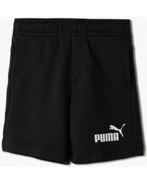 Шорты черные Puma