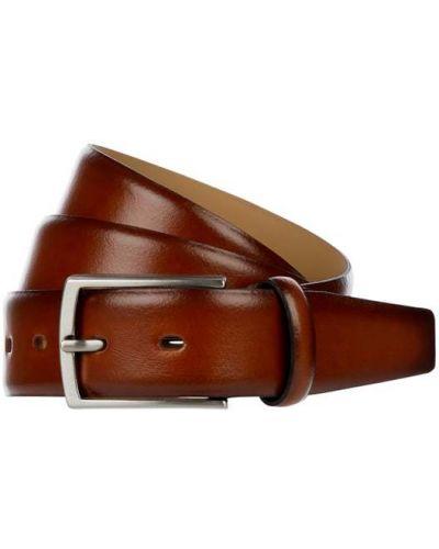 Pasek skórzany - brązowy Lloyd Men's Belts