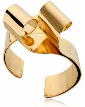 Złota bransoletka ze złota pozłacana Oblik Atelier
