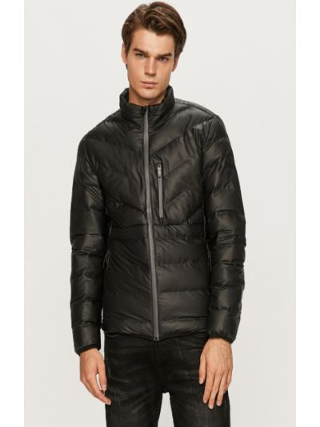 Прямая утепленная куртка с воротником Jack & Jones