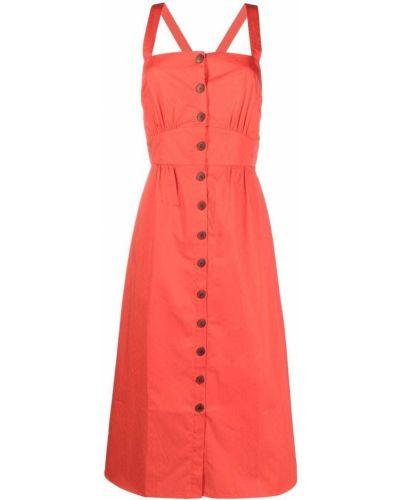 Хлопковое платье - розовое Ba&sh