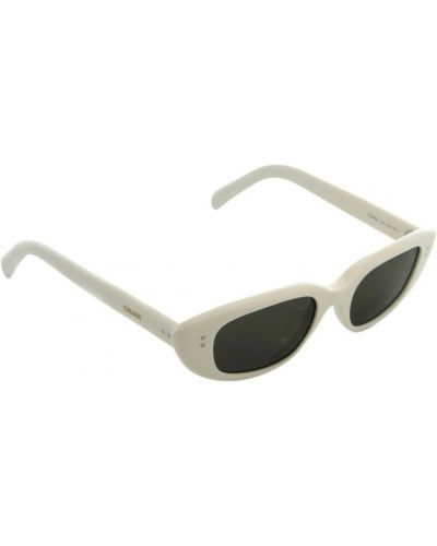 Białe okulary Céline