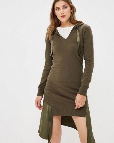 Платье осеннее платье-толстовка Met