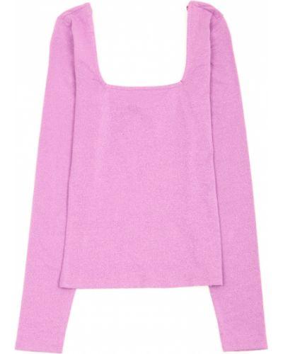 Сиреневая блузка с длинными рукавами C&a