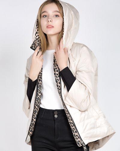 Куртка из полиэстера - бежевая Grace