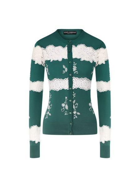 Кардиган белый с вышивкой Dolce & Gabbana