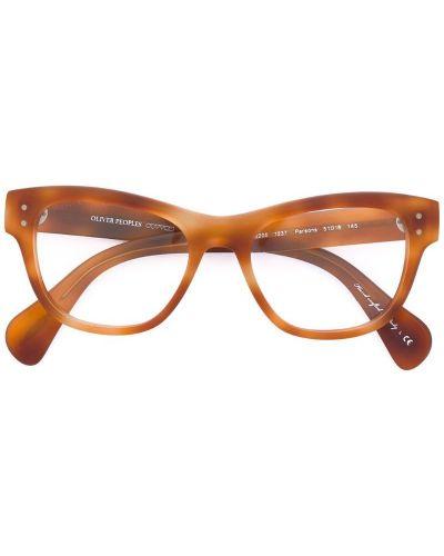 Оранжевые очки Oliver Peoples