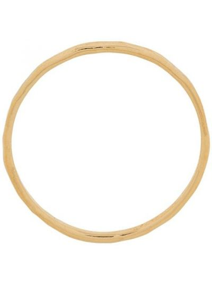 Золотистое кольцо золотое скинни Wouters & Hendrix