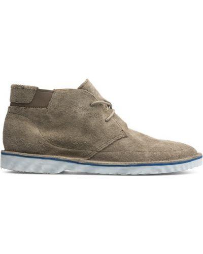 Ankle boots - białe Camper