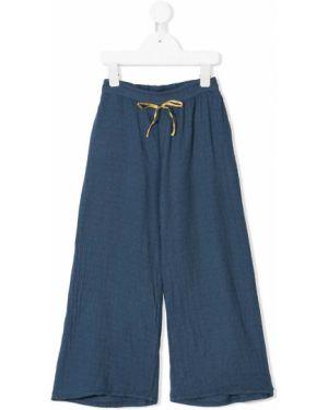 Синие брюки с завязками Buho