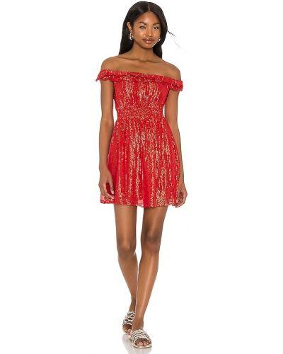 Хлопковое платье с декольте с подкладкой Sundress