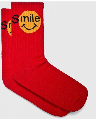 Носки однотонные - красные Fulloff