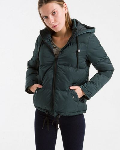 Утепленная куртка - зеленая Ltb