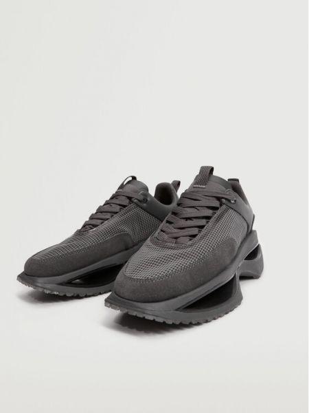 Szare sneakersy Mango