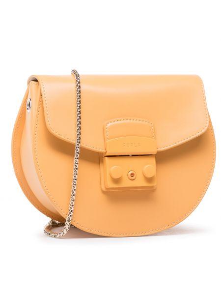 Pomarańczowa torebka Furla