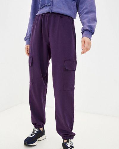 Фиолетовые брюки летние D.s