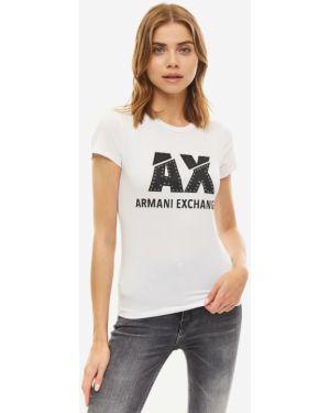 Футболка белая Armani Exchange