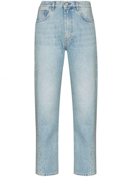Niebieskie jeansy bawełniane Toteme