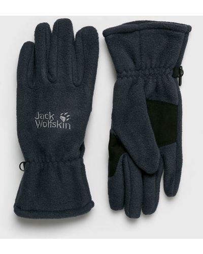 Перчатки текстильные темно-синий Jack Wolfskin