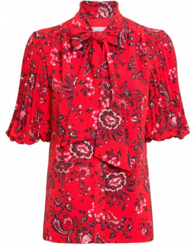 Czerwona koszula Erdem