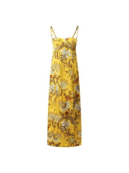 Платье шелковое Dries Van Noten