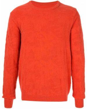 Оранжевый свитер свободного кроя Zambesi