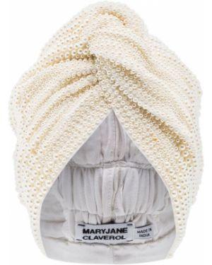 Turban biały Maryjane Claverol