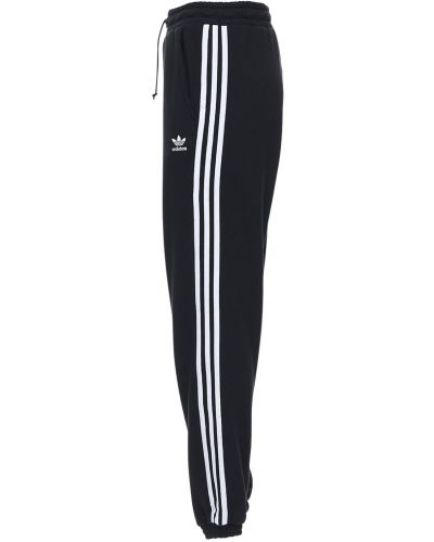 Хлопковые спортивные брюки - черные Adidas Originals