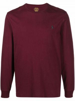 Bluza dresowa - fioletowa Polo Ralph Lauren