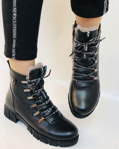 Кожаные ботинки Trio Trend