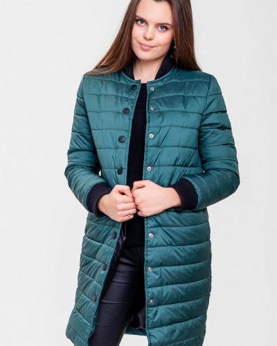 Утепленная куртка - зеленая Sfn