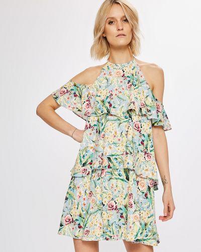 Платье мини с декольте прямое Answear