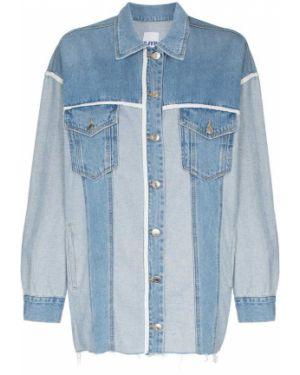 Джинсовая куртка с манжетами на пуговицах Sjyp