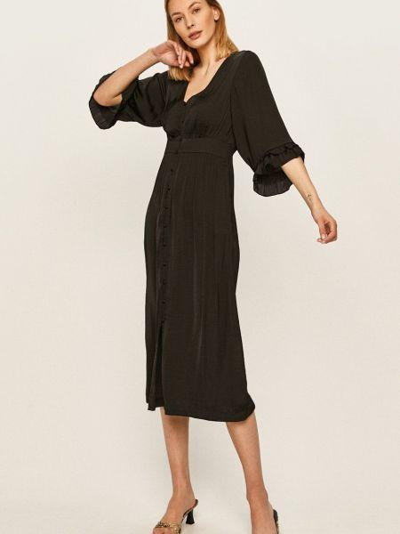 Платье из полиэстера - черное Scotch & Soda