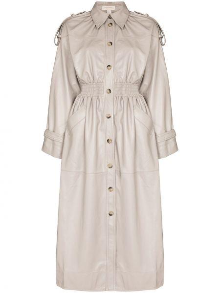 Пальто из полиэстера Matériel