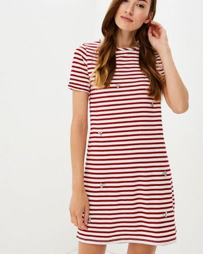Красное платье футболка Dorothy Perkins