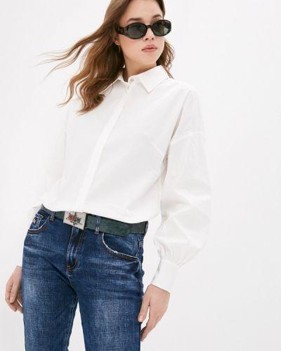 Белая рубашка с длинными рукавами Blauz