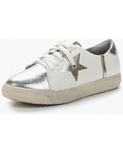 Белые кожаные туфли Janessa