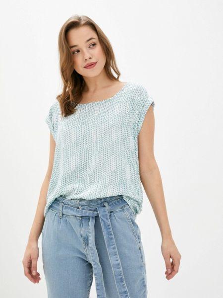 Бирюзовая блузка с коротким рукавом Fresh Made