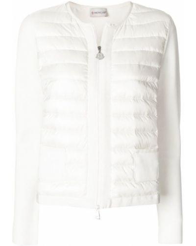 Длинная куртка укороченная прямая с карманами Moncler