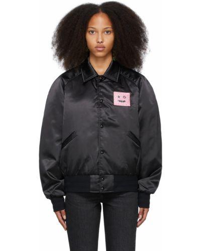 Черная утепленная куртка Acne Studios
