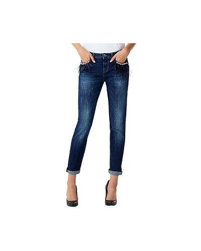 Прямые джинсы с карманами Liu Jo