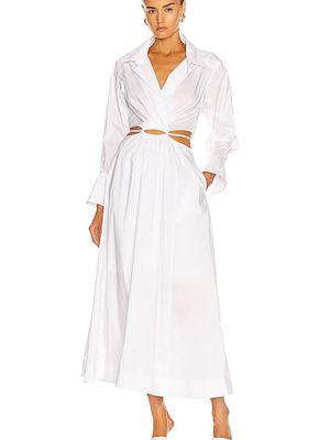 Платье рубашка - белое Jonathan Simkhai